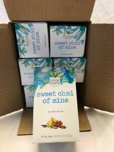 Good Earth Chai Tea, Sweet Chai of Mine, 18 Count Tea Bags (Pack of 6)