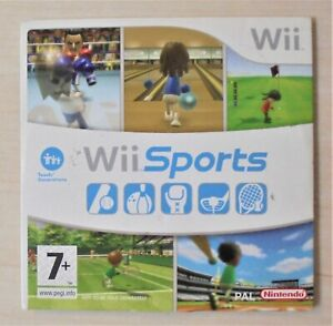 Wii Sports - Nintendo Wii UK Region PEGI 7+ - Game Only FREE POSTAGE