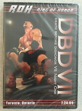 ROH - Death Before Dishonor VII 7 Night One - DVD - Ring Of Honor - Brand NEW