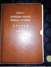 MAROLLI - DIZIONARIO TECNICO - TAVOLE - LE MONNIER