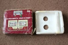 EMPTY BOX AND POLY TRAY FOR NINTENDO CGL GAME AND WATCH MARIO BROS MW-56 1983