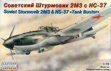 EasternExpress  Il-2 M3 with NS-37 Tank Buster Stormovik 1:72 Modell-Bausatz kit