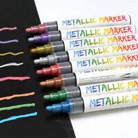 Graffiti Liquid Chalk Highlighter Marker Pen Set Fluorescent Neon Metallic