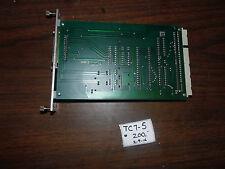 Charmilles / Erowa EDM Tool Changer PC Board, SI 681, 40225a, Used, Warranty