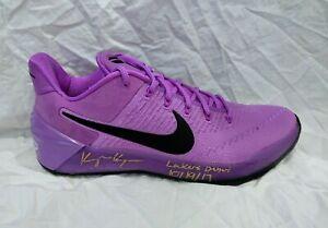 Kyle Kuzma Signed Nike Kobe Stardust Shoe Los Angeles Lakers Beckett COA +PROOF