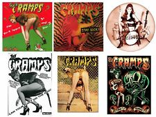 x6 Vinyl Stickers cramps rockabilly psychobilly laptop bad bone sick elvis pussy