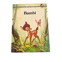 Walt Disney Bambi Classic Collection series Hardcover Illustrated 1995 Vintage