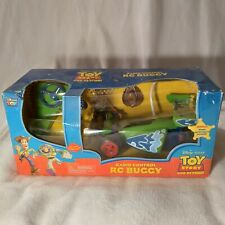 Disney Toy Story Radio Control Rc Buggy Thinkway With Woody Action Figure gift