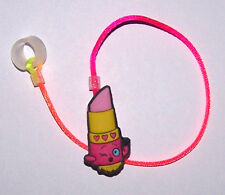 Children's Hearing Aid SAFTY LEASH RETAINER CLIP for 1 sided H.A... LIPSTICK