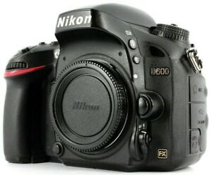 Nikon D600 24.3 MP Digital SLR Camera - Body and Extras GREAT CONDITION