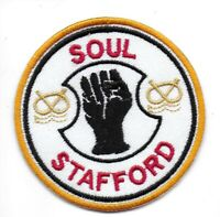 HIGH QUALITY NORTHERN SOUL YORKSHIRE Embroidered Iron Sew On Patch Badge