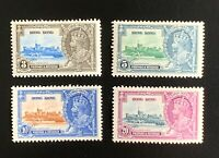 Hong Kong Stamps. SC 147-150. 1935. MH. **COMBINED SHIPPING**
