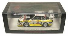 Spark Audi Sport Quattro S1 E2 Monte Carlo 1986 - Rohrl/Geistdorfer 1/43 Scale