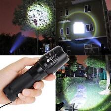 10000LM Zoomable XML T6 LED 18650 torcia elettrica messa a fuoco della torcia FB