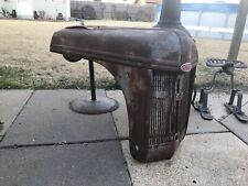 40s 50s Ford Tractor 8n 9n 2n Hood Grill Old Original Rusty Patina