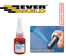 Everbuild Threadlock Nut Bolt Screw Thread Lock BLUE Adhesive Glue Non Drip 10g