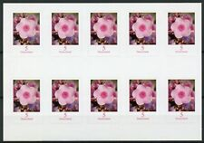 Germany 2019 MNH Phlox Flowers Definitives 10v S/A Booklet Flora Nature Stamps