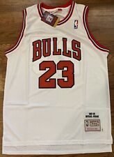 Michael Jordan Chicago Bulls 1997-98 Throwback Jersey - XL Size 48 - NWT