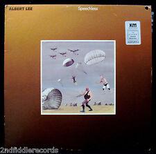 ALBERT LEE-SPEECHLESS-1986 MCA Masters #MCA 5693-AUDIOPHILE PRESSING-Near Mint