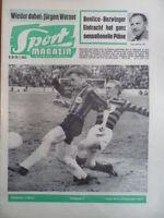SPORT MAGAZIN KICKER 5 A - 29.1. 1962 Eintracht-FSV 4:0 1860-Bayern 2:3 Schämer