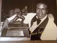 New listing Charles White Signed 8X10 Photo Autograph USC Football with 1979 Heisman Trophy
