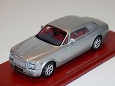1/43 True Scale TSM 2009 Rolls Royce Phantom Coupe in Silver TSM114322