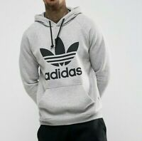 Adidas Trefoil hoodie Men Originals Trefoil Hoodie BR4164 RRP £49.99