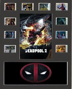 Deadpool 2 Replica Film Cell Presentation 10x8 Mounted 10 Cells V3