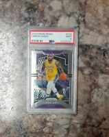 LeBron James 23 🔥 2019-20 Prizm Basketball  PSA  📈  Lakers MINT FREE SHIPPING