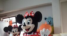 Minnie mouse Head Mascot Costumes fancy dress Hallowen party Character Only Head