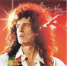 """BRIAN MAY (QUEEN) Too Much Love Will Kill You PICTURE SLEEVE 7"""" 45 record RARE!"""