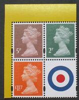 DY25 2018 The RAF CENTENARY Prestige  2p, 5p, £1.17 + MPIL M18L + LABEL