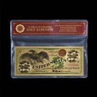 WR1863 100 US-Dollar Eagle Dollar Gold Banknoten Sammler Geldschein