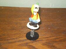 Vintage Walt Disney Spring-Loaded Popup Toy Goofy. Bobble. Made In Hong Kong.