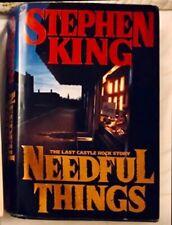Needful Things by Stephen King (1992, Hardcover, Large Type)