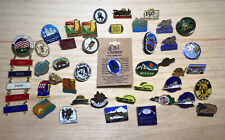 New listing Vintage Lot of 41 Pins/Buttons - Various American (United States Us) Themed 🇺🇸