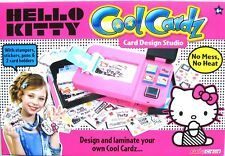 CREATE COOL CARDZ CARDS HELLO KITTY DESIGN STUDIO CARD MAKER  BY FLAIR - NEW!