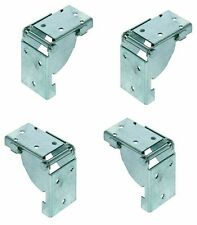 4 Folding Table Leg Brackets Locks in position, open and closed -Made In GERMANY