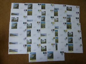 Excellent collection 2007-15 GB Regional FDCs - all spec HS (37) - rf875