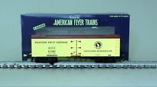 American Flyer 6-44141 Western Fruit Express Wood Side Refrigerator Car 67582