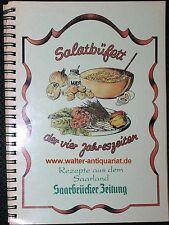 Saar Salatbüfett der vier Jahreszeiten Rezepte aus dem Saarland Salate Kochbuch