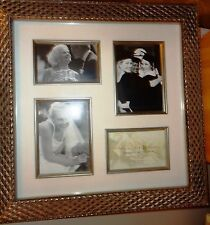 Kirkland's Silver Lattice Photo Collage Frame 16 x 16 With 4 Openings 4X6 & 5x7