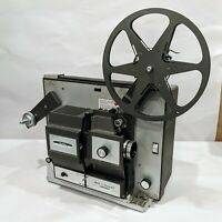 Vintage BELL & HOWELL Super 8 8MM Design 456 Portable Movie Projector ~TESTED