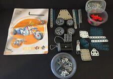 Meccano Design 3 Erector Set Model 6700 Motor Wheels Instructions