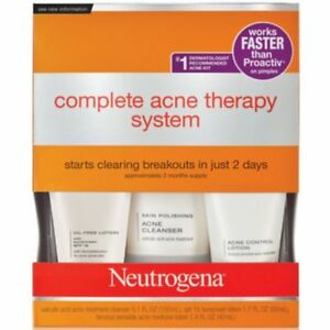 Neutrogena Advanced Solutions Complete Acne Therapy System $ Great $
