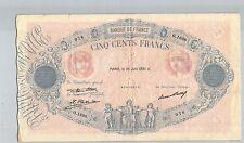 FRANCE 500 FRANCS BLEU ET ROSE 25 JUIN 1931 O.1698 N° 42438076 PICK 66L