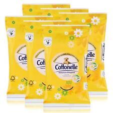 6x Cottonelle feuchte Toilettentücher Kamille & Aloe Vera 12 Tücher für unterweg