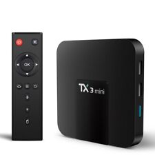 TX3 mini 4K Smart TV BOX S905W Quad Core CPU Android 7.1 WiFi HD Media Top Set