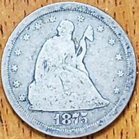 1875 S Twenty Cent 20c G Check It Out! KM# 109 AA#127
