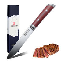 Japanese 7 inch Usuba Chef Knife German Stainless Steel Kitchen Cut by KEEMAKE
